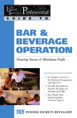 Bar & Beverage Operation By Parry, Chris